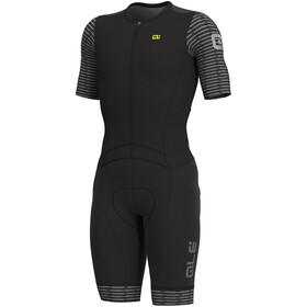 Alé Cycling R-EV1 Fuga SS Unitard Herr black-white